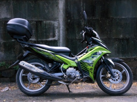 New Jupiter MX touring
